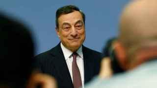 Draghi, presidente del BCE.