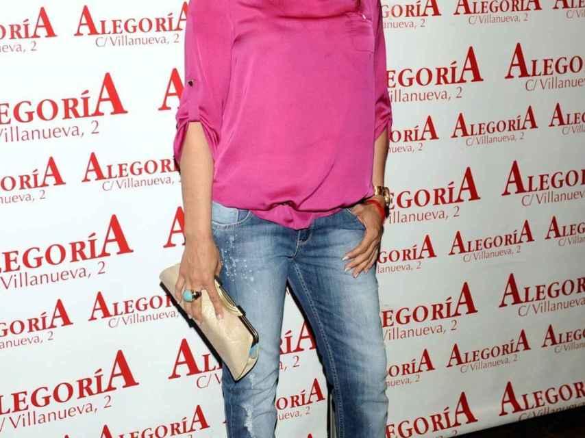 Encarna Salazar, una superviviente del cáncer de mama.