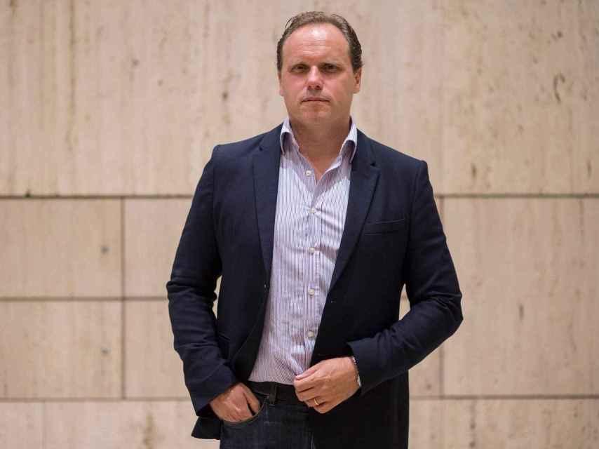 Daniel Lacalle, en las oficinas de Tressis.