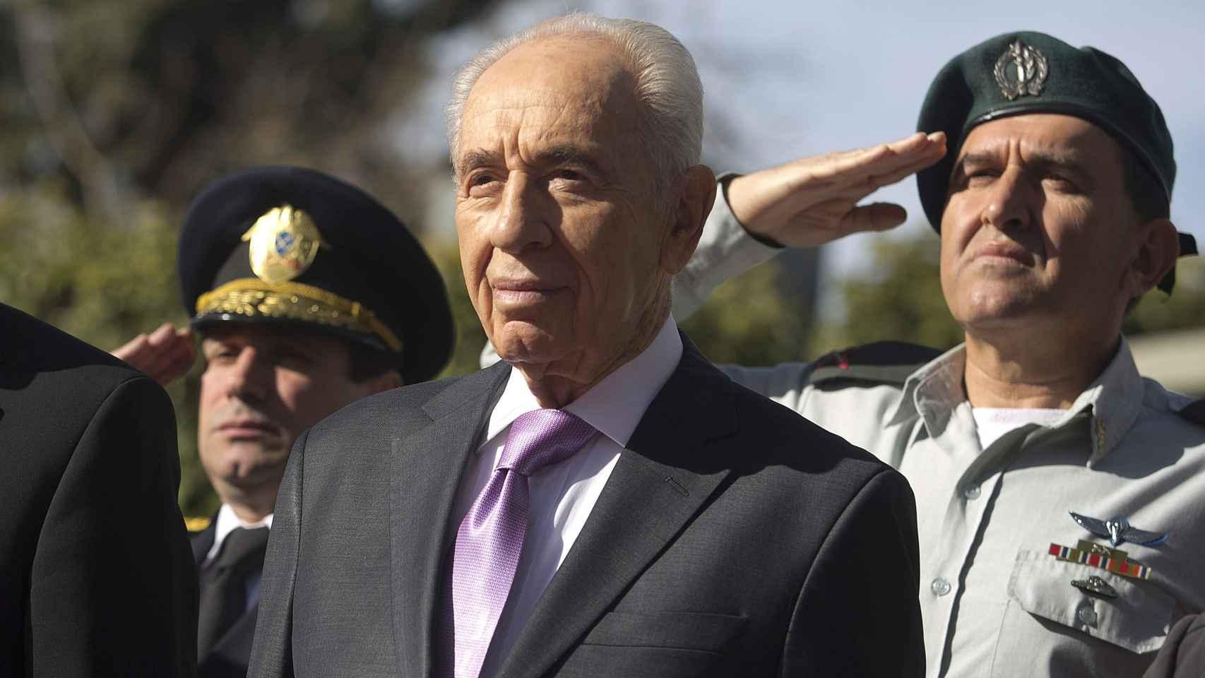 El expresidente israelí Simón Peres.