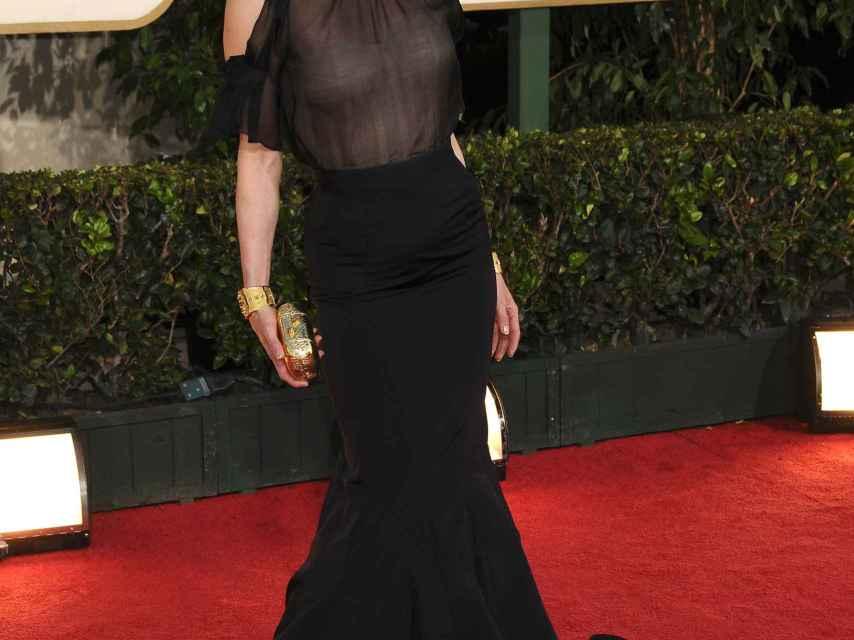 La actriz ha aparecido con estilismos de lo más 'arriesgados' en público, como Bridget.