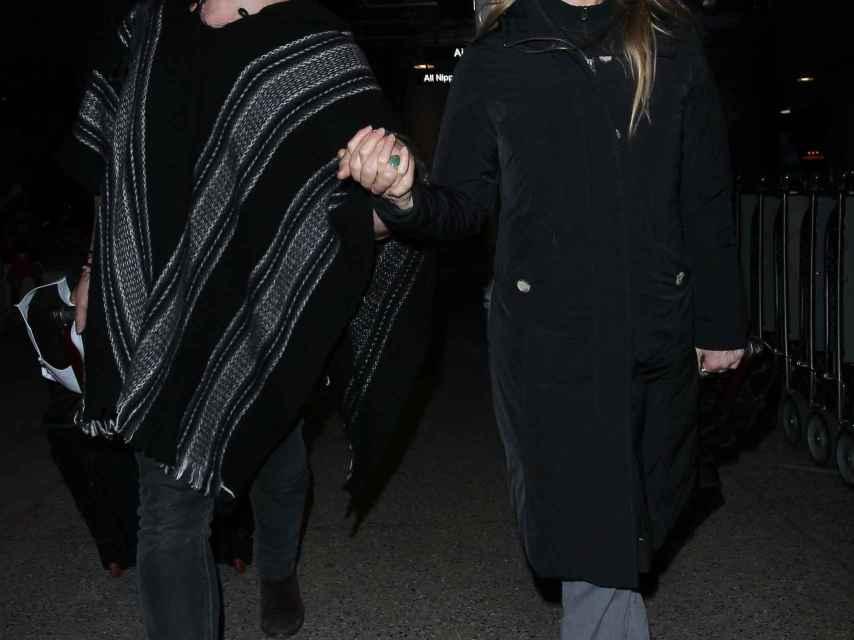 Renée junto al músico Doyle Bramhall, con el que comparte su vida desde hace más de tres años.