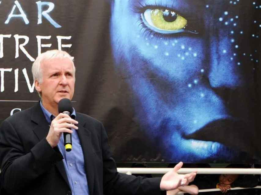 El director James Cameron.