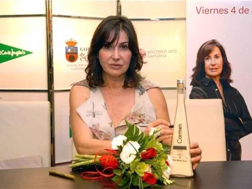Carmen Martínez Bordiú, durante una presentación.