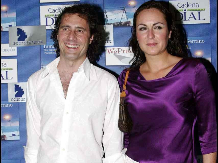 Ana Milán junto al padre de su hijo, el cantante y actor Paco Morales.