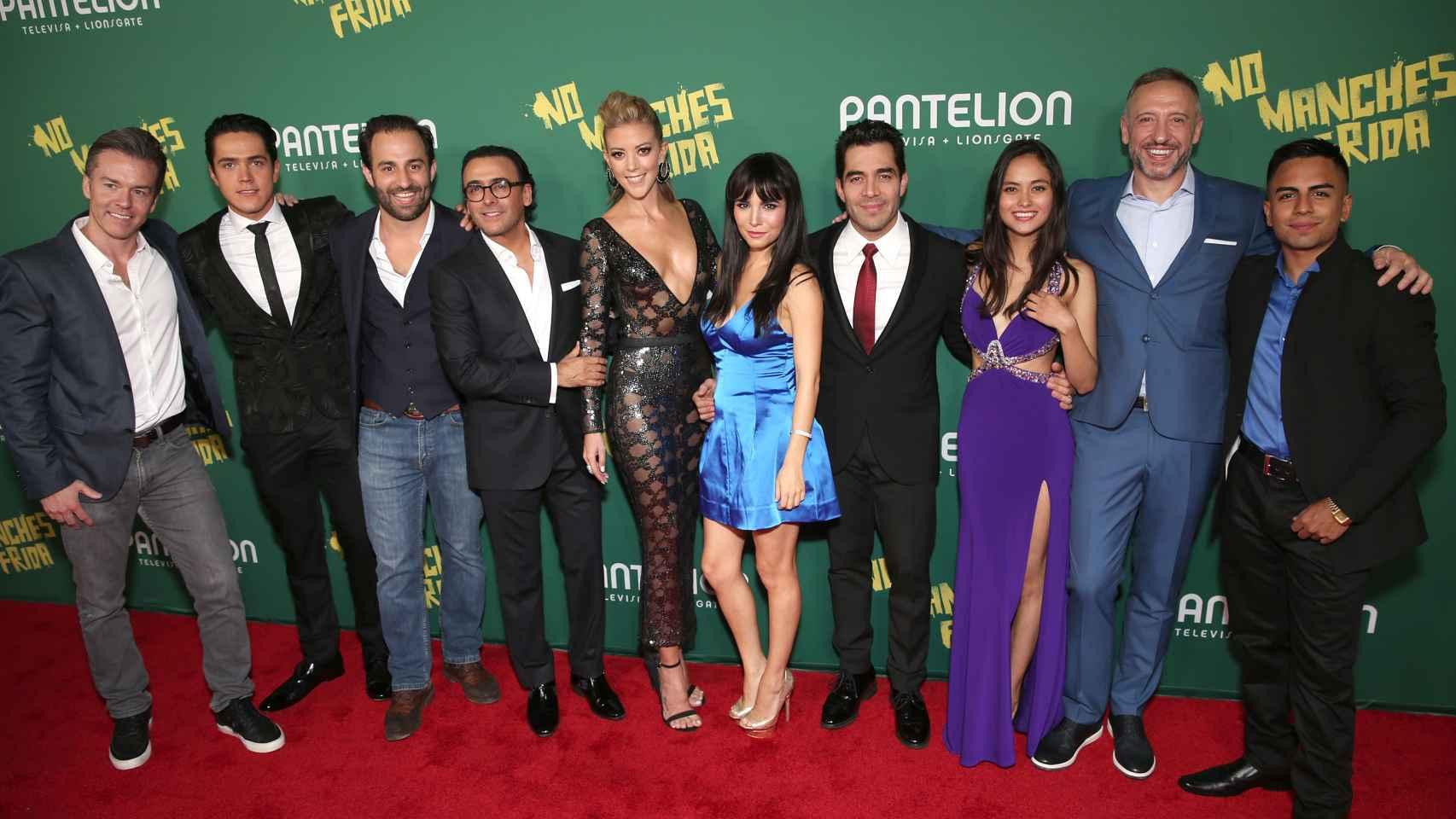 Nacho G. Velilla en la premiere en Hollywood de No manches Frida.