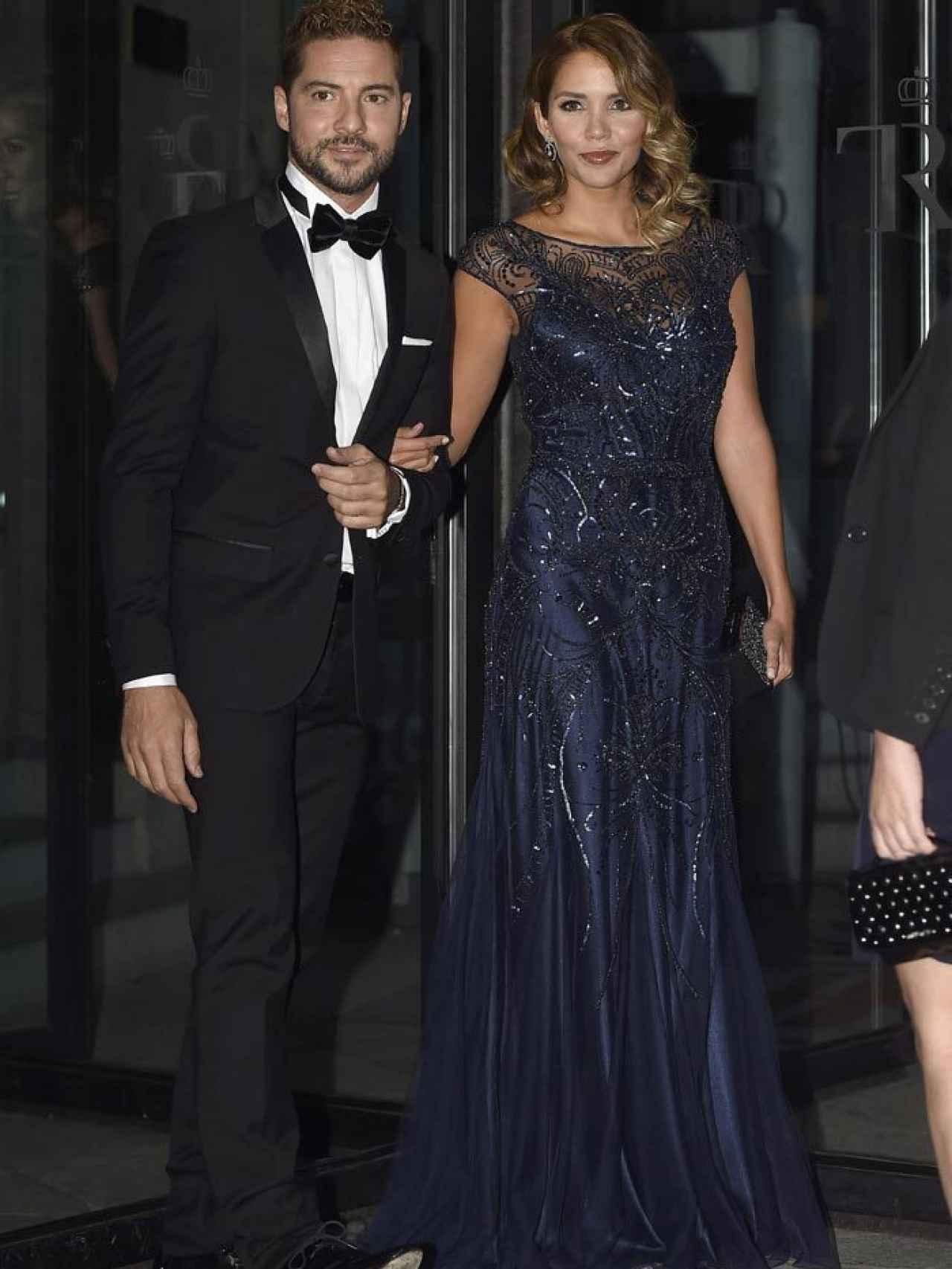 David Bisbal con Rosanna Zanetti