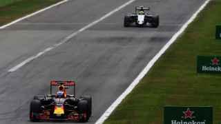 Danielle Ricciardo durante el GP de Italia.