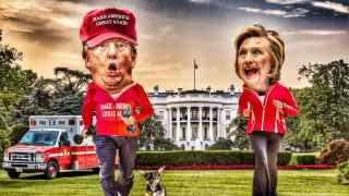 Trump y Clinton luchan por ver quién tiene una salud más robusta.