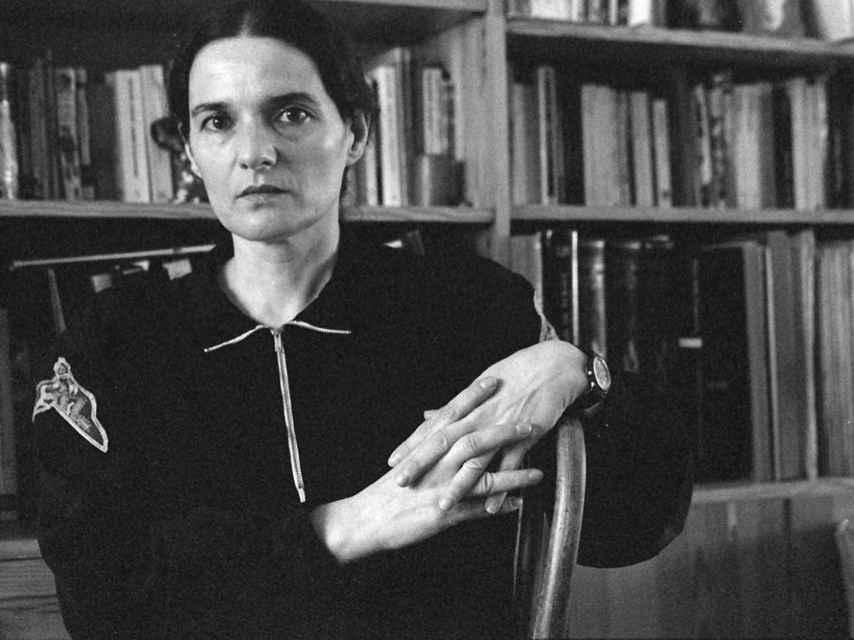 Adelaida García Morales, en una foto de archivo de Anagrama.