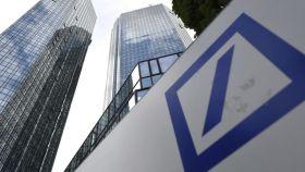 Sede del mayor banco alemán en Fráncfort.