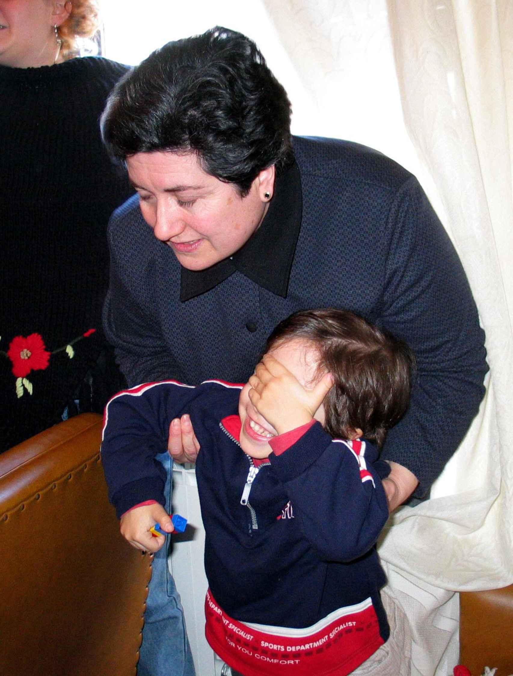 Margarita Bernal, la madre biológica de Diego, conocido como El Niño de El Royo, en una imagen de 2003.