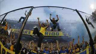 Barras Bravas de Boca Juniors.