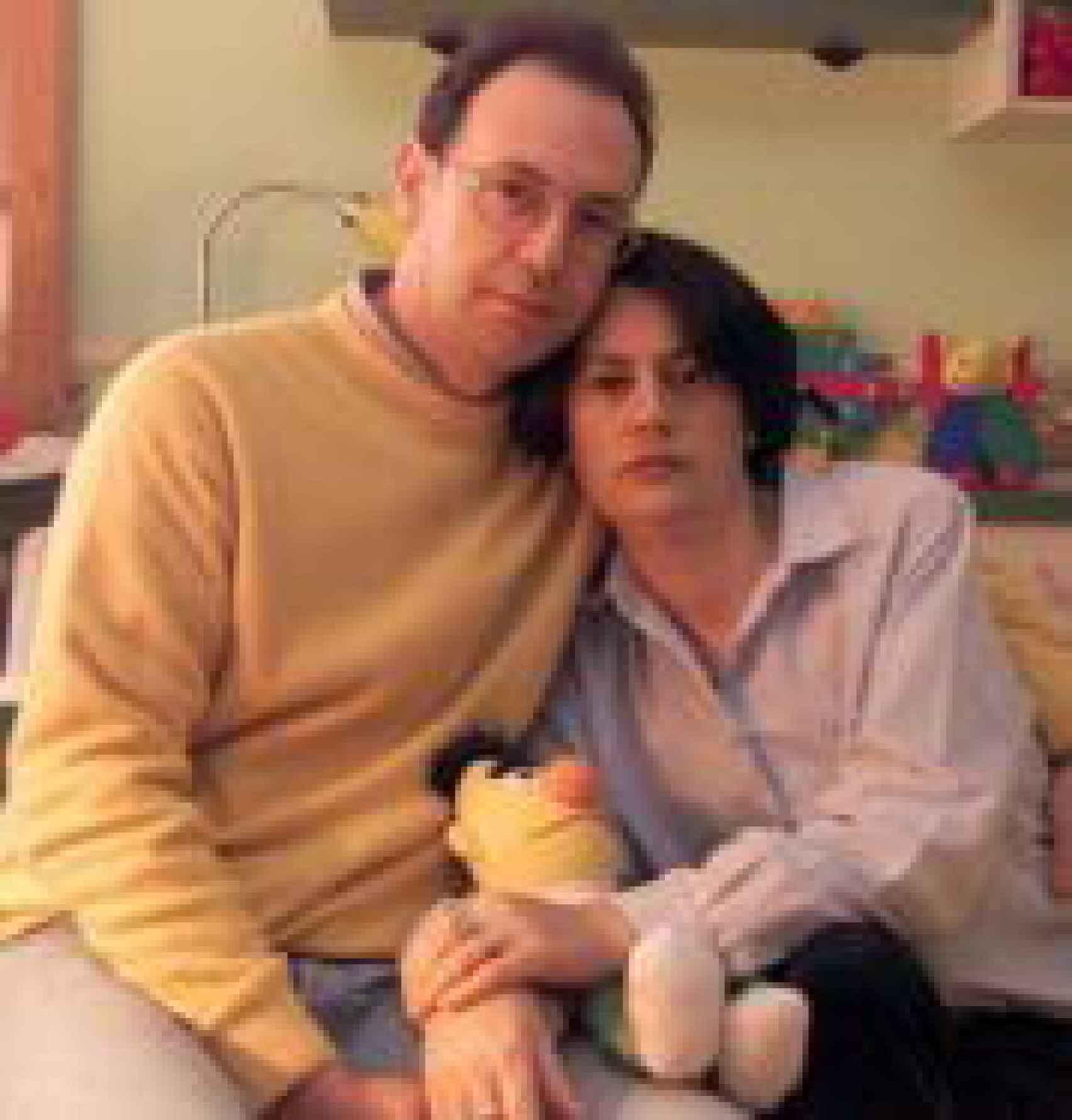 Carlos y Raquel fueron los padres adoptivos de Diego.