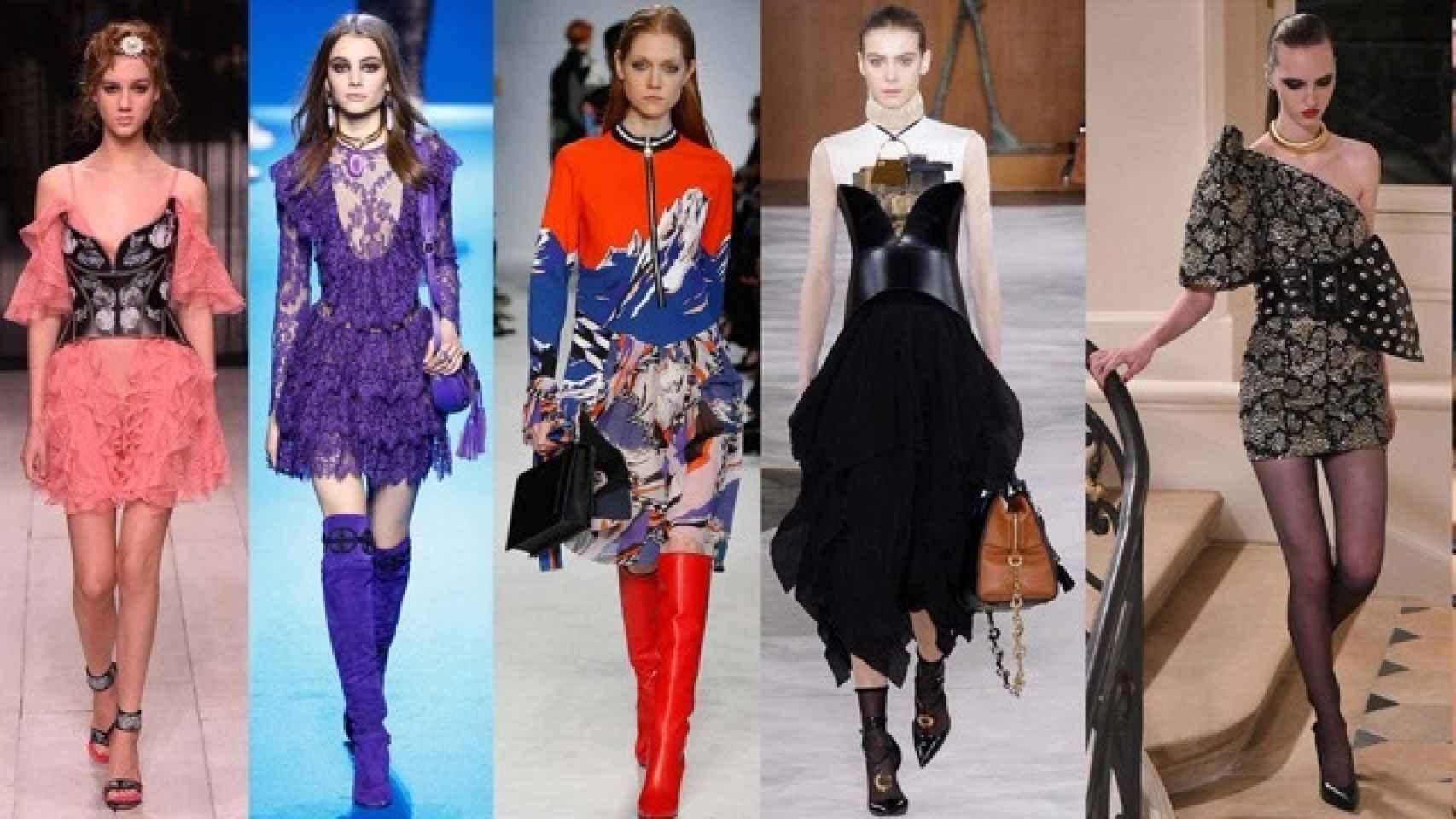 Descubre las cinco tendencias que dictan las capitales de la moda.