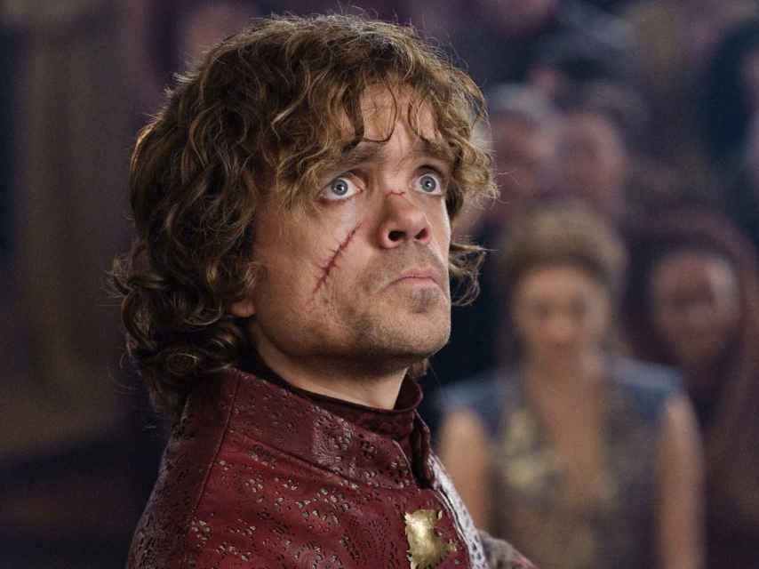Tyrion Lannyster, el enano de Juego de Tronos, una de las nominadas favoritas de los Emmy.