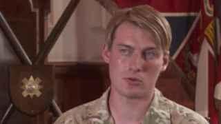 Una mujer transexual, primera soldado británica en el frente de batalla