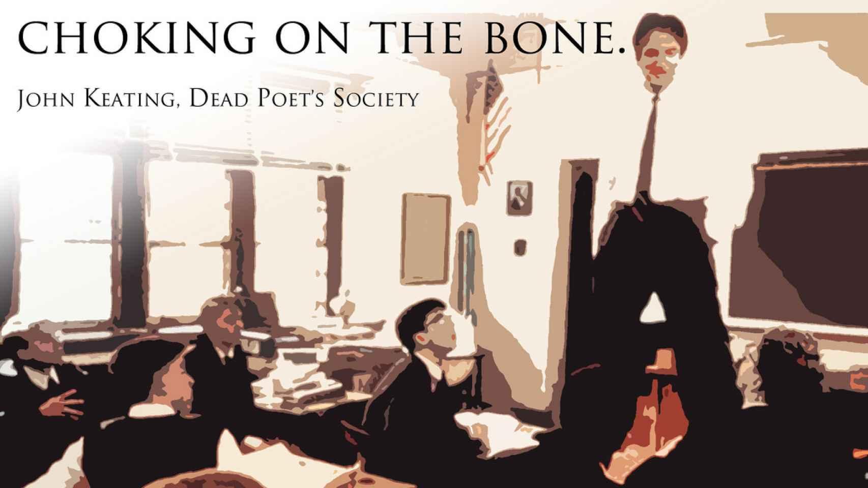 Escena de 'El club de los poetas muertos'/Dennis Valente/ Flickr