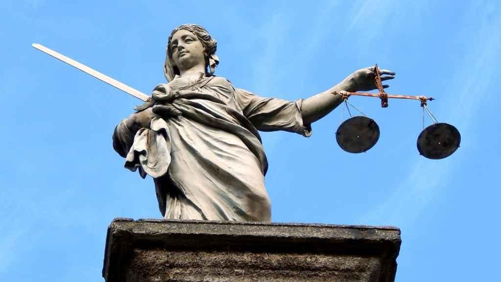 Alegoría de la Justicia en Dublín/ Pixabay