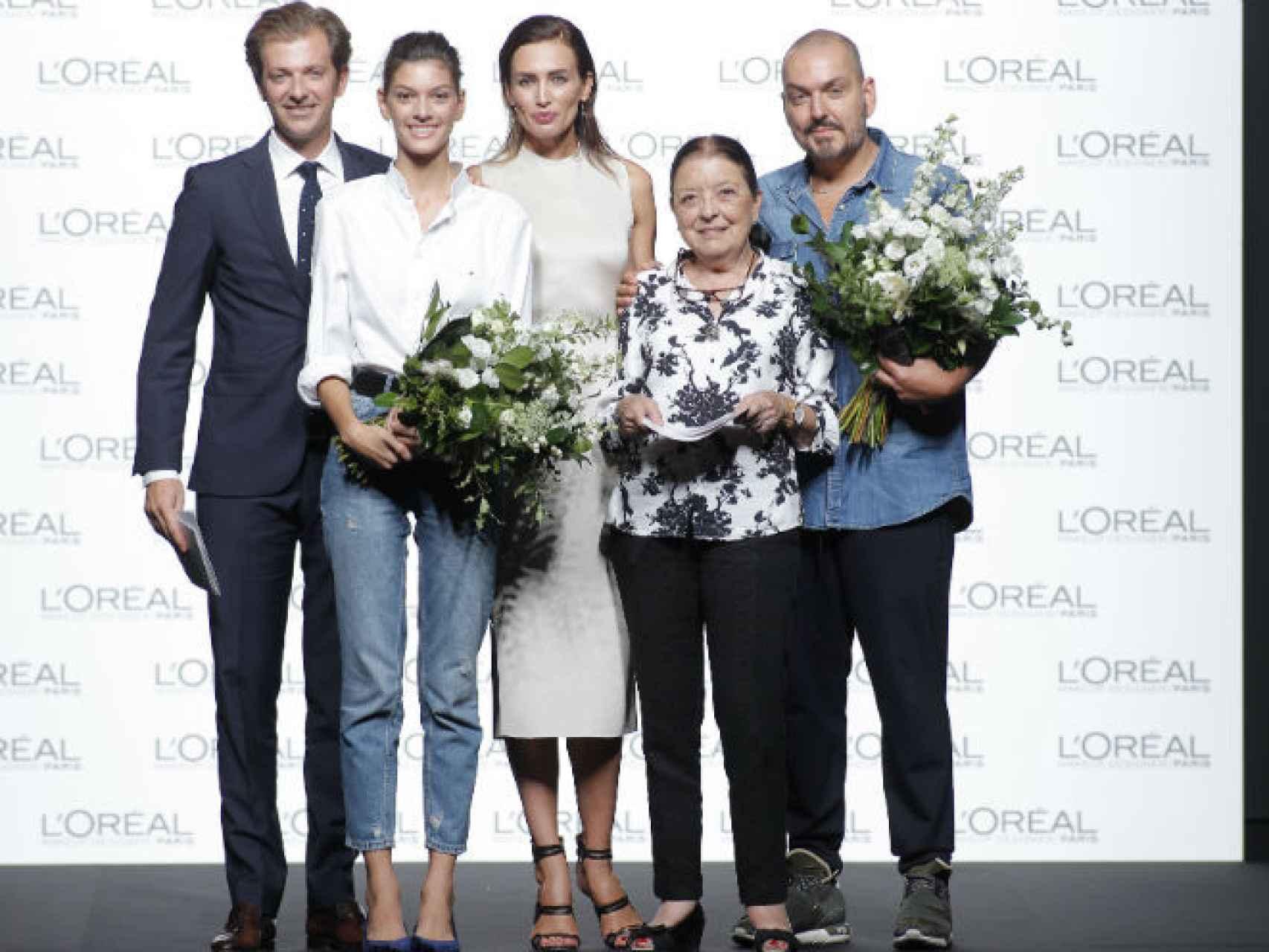 Juan Duyos gana el Premio L'Oréal  a la mejor colección de la 64ª edición