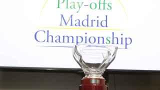 El trofeo de los Playoffs Madrid Championship.