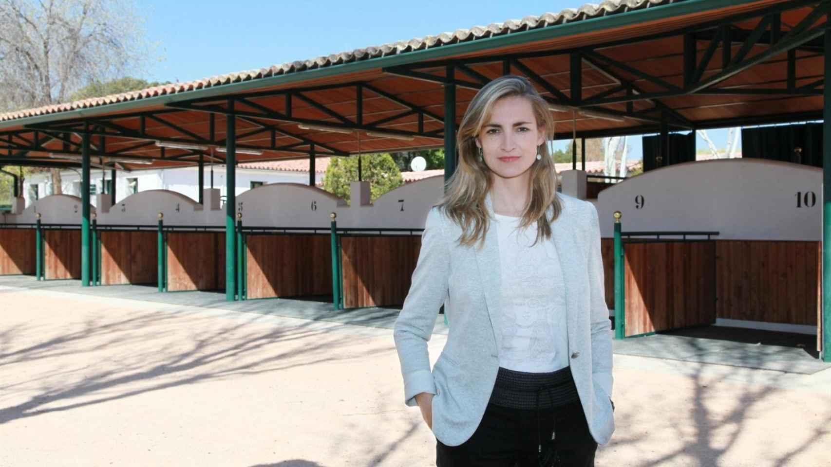 Presidenta del Hipódromo de la Zarzuela, Faina Zurita.
