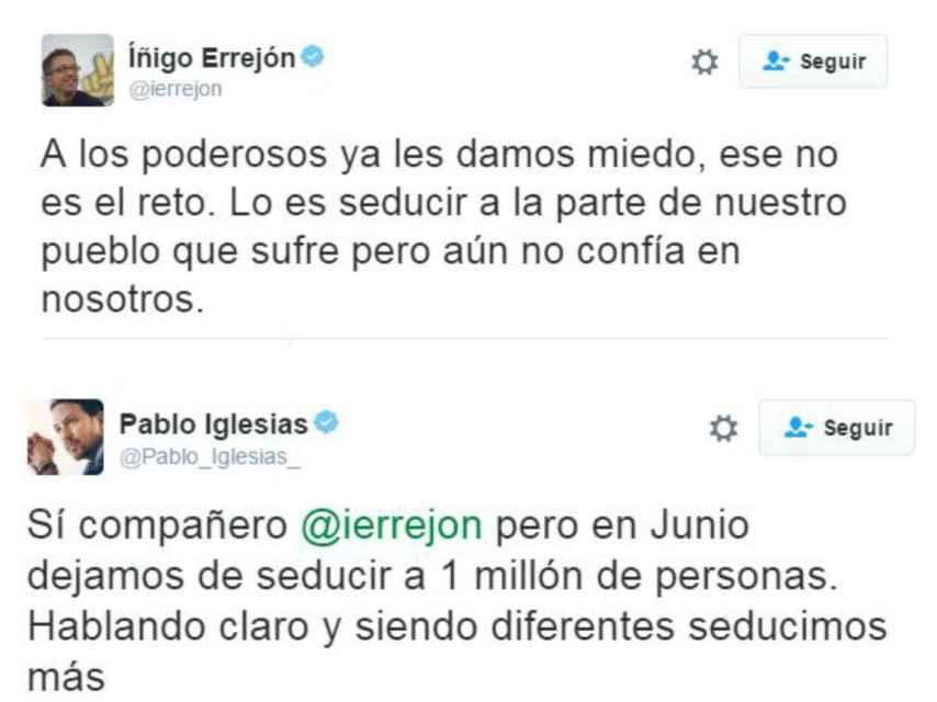 ¿Tensiones en el seno de Podemos?