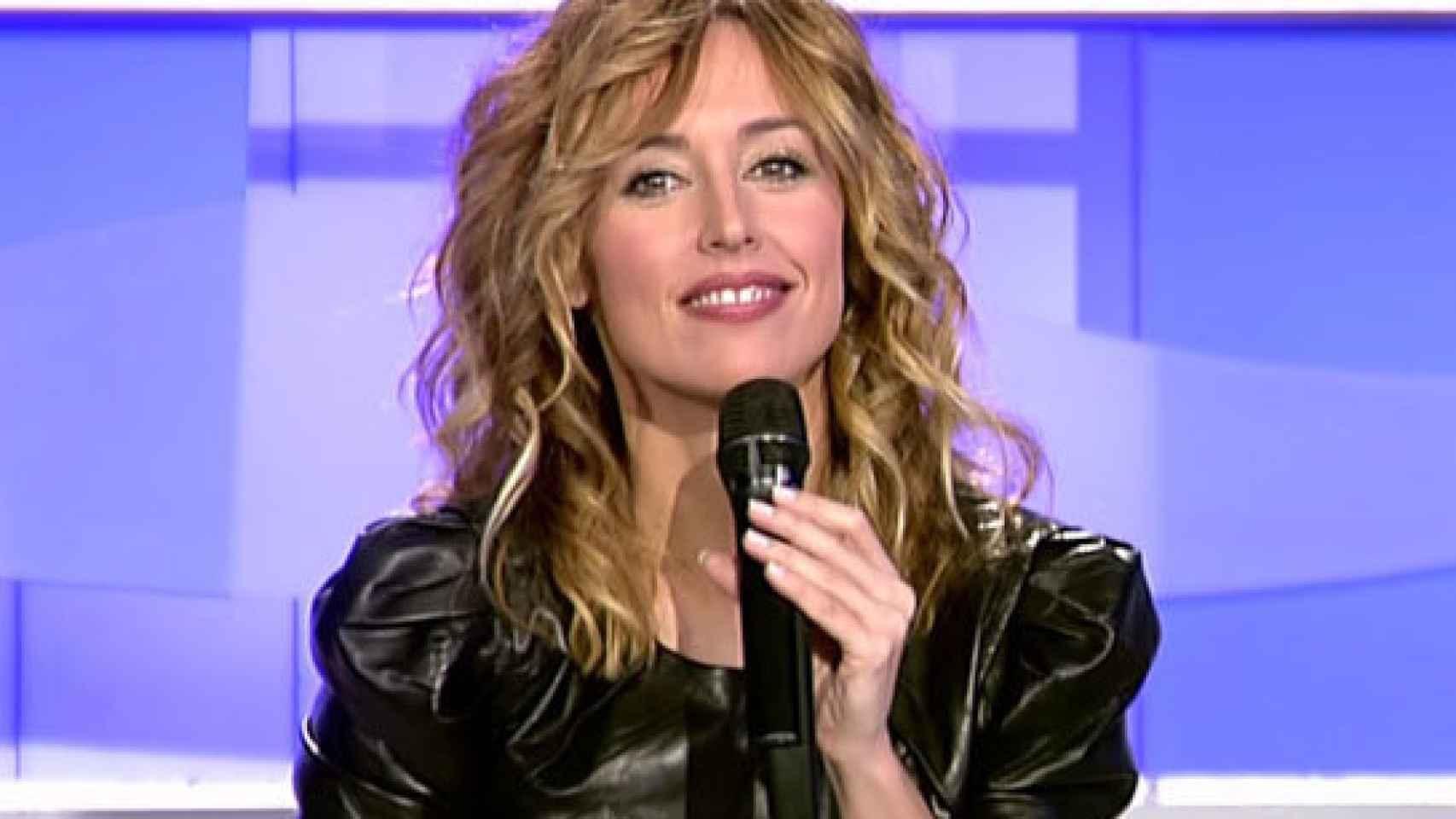 La presentadora Emma García