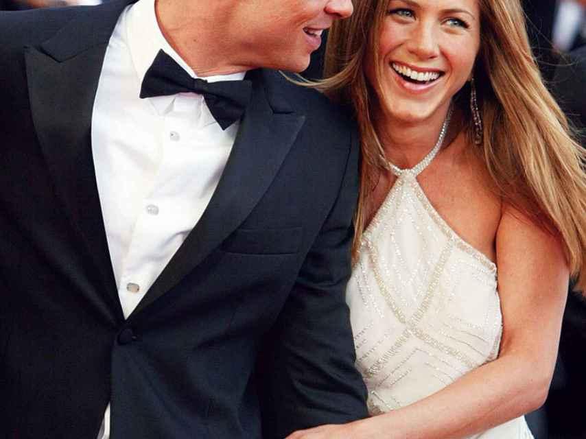 Imagen de cuando Brad Pitt y Jennifer Aniston eran felices.