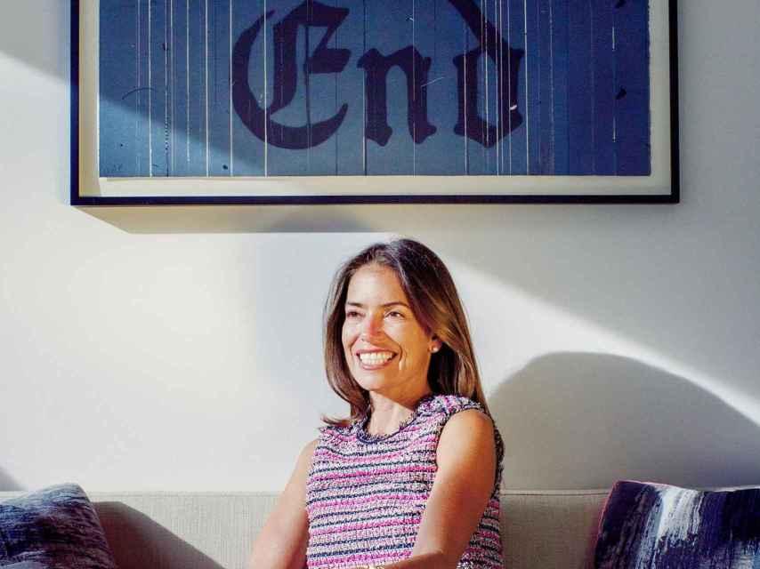 Laura Wasser, en la sede de su bufete de abogados.