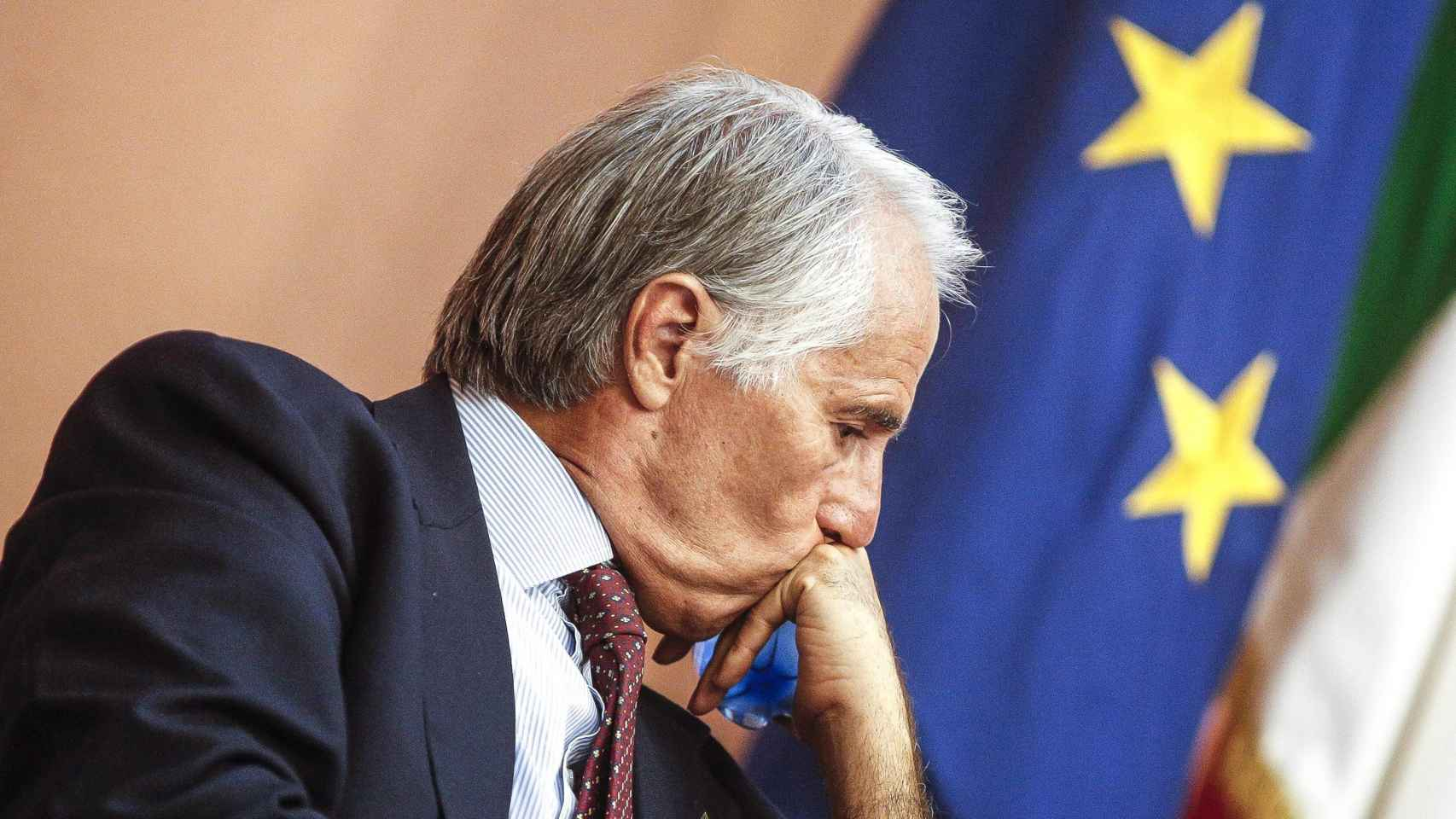 El presidente del Comité Olímpico Italiano, Giovanni Malagò