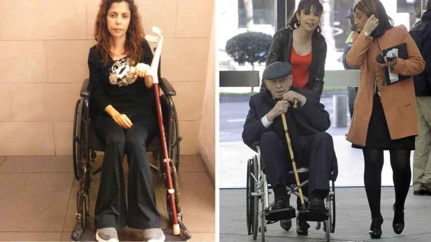 La reaparición de Gina: Estoy en silla de ruedas por Di Stefano