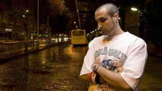 El rapero sevillano ToteKing en la portada de su disco Un tipo cualquiera.