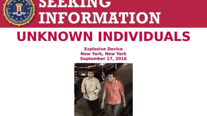 El FBI quiere interrogarlos y hacerse con la maleta que llevaban.