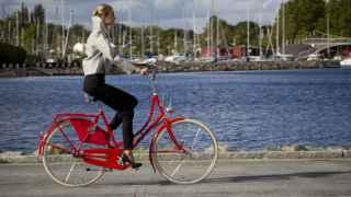 El mejor tándem: mujer y bicicleta