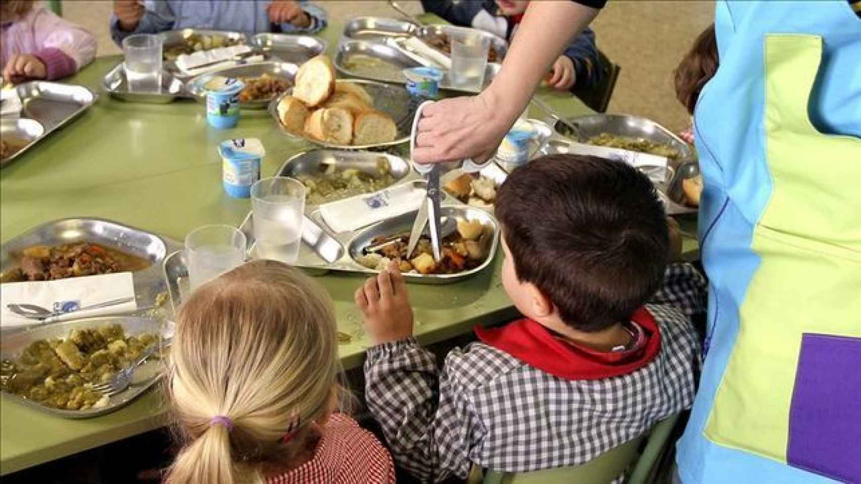 El precio medio del menú escolar en Navarra es el mayor de toda España: 6,25 euros