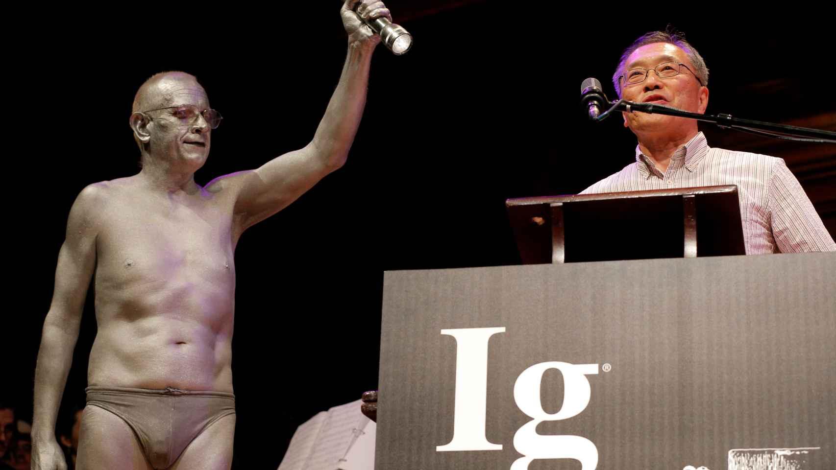Atsugi Higashiyama, ganador en la última edición de los IgNobel.