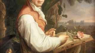 Alexander von Humboldt pintado por Friedrich Georg Weitsch en 1806.