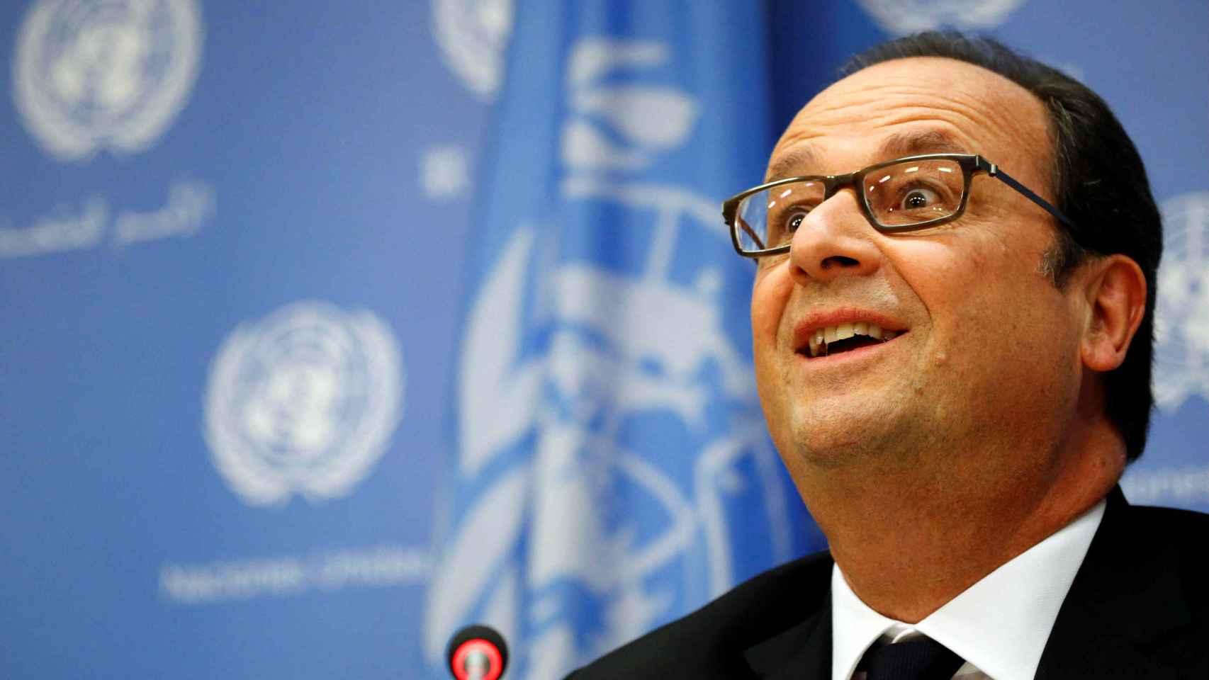 El presidente de Francia, Françoise Hollande.