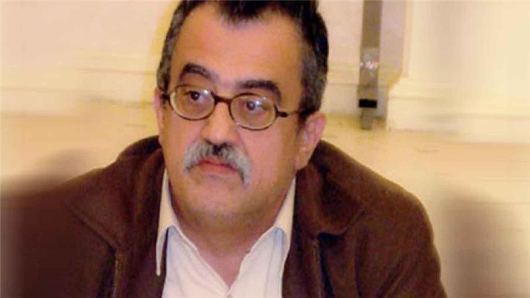 El escritor cristiano jordano Nahed Hattar.