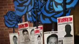 Las protestas por los desaparecidos llegaron a Washington el pasado mes de marzo.
