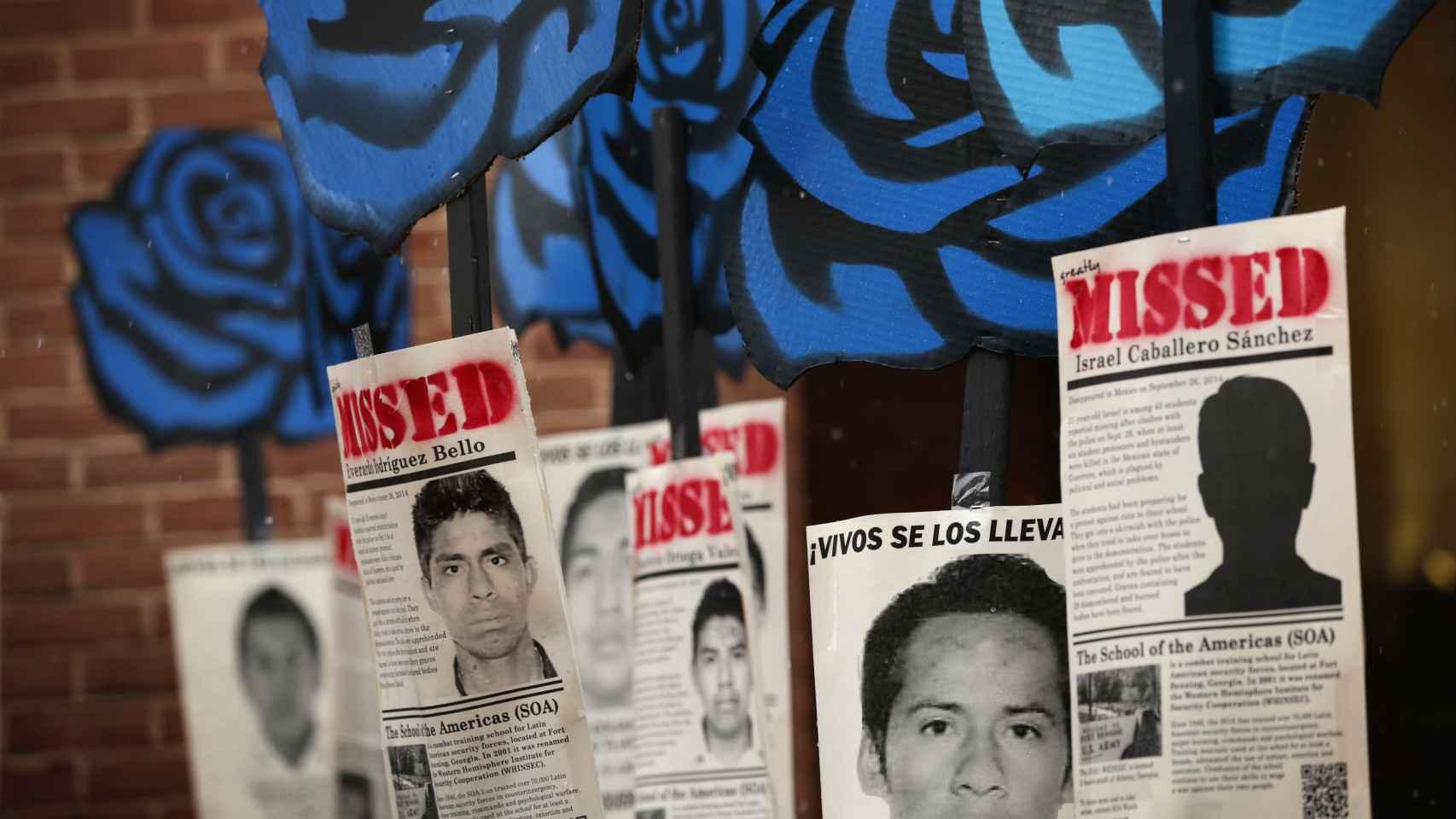 Las protestas por los desaparecidos llegaron a Washington en marzo.