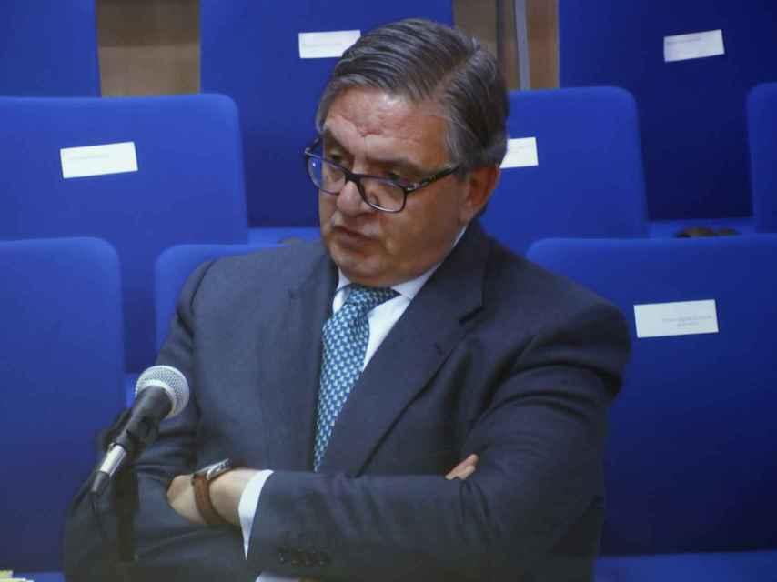 García Revenga, durante los interrogatorios del Caso Nóos.