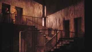 Imagen de la obra Historia de una escalera, representada en el María Guerrero, en 2003.