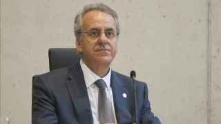 El rector de la Universidad de Extremadura, Segundo Píriz