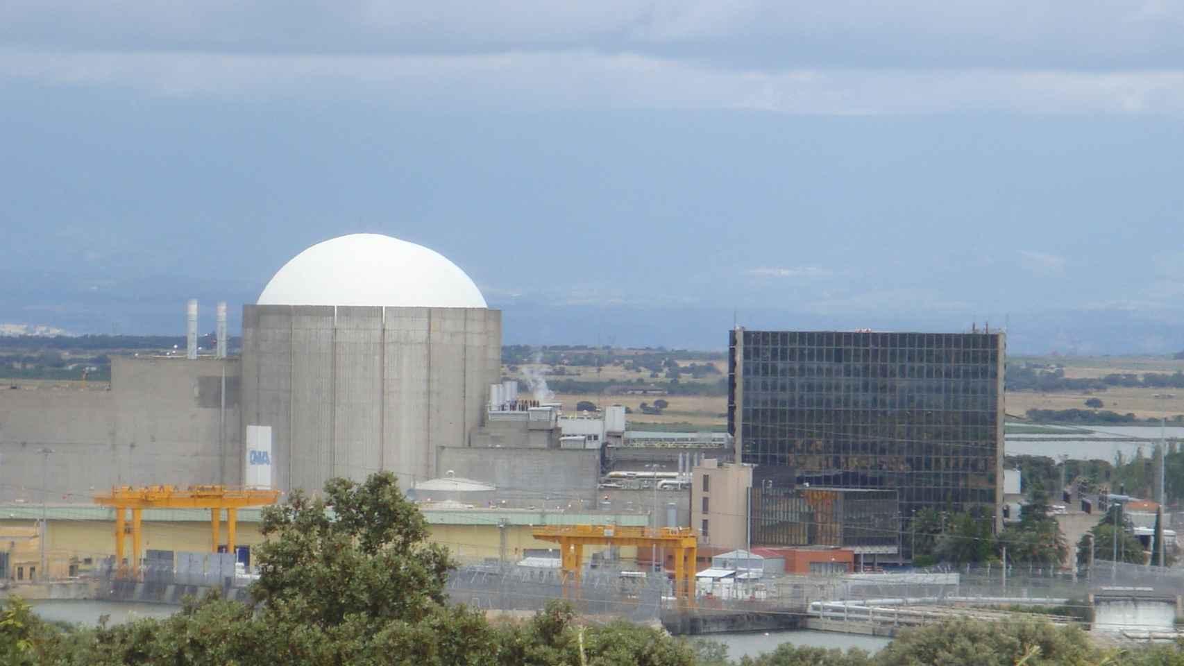 La central de Almaraz, en Cáceres.