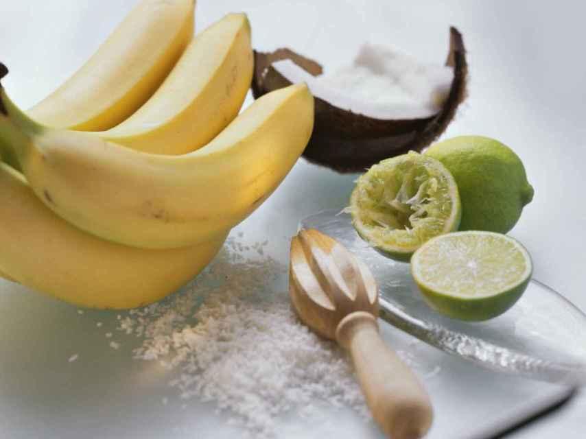 Los plátanos tienen alto contenido en magnesio.