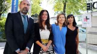 De izda a dcha: Enrique Verdeguer, director de ESADE Madrid; Carmen Millán, de PwC; Marta Lamas, de BT, y Patricia Cuaqui, profesora de ESADE y autora de ESADE Gender Monitor.