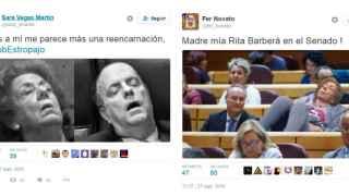 Está claro que a Rita nada le quita el sueño.