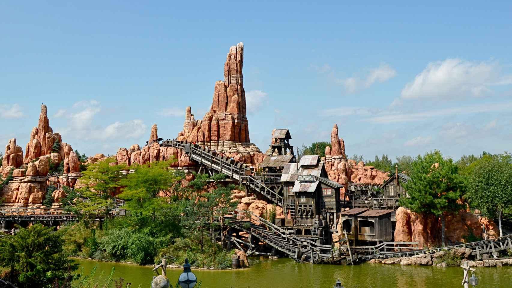 La Big Thunder Mountain de Disneyland.